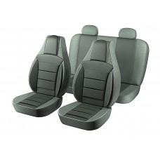 Авточехлы Пилот Lanos светло-серый (на 4 сиденья)