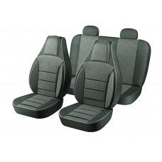 Авточехлы Пилот Lanos тёмно-серые (на 4 сиденья) 5%